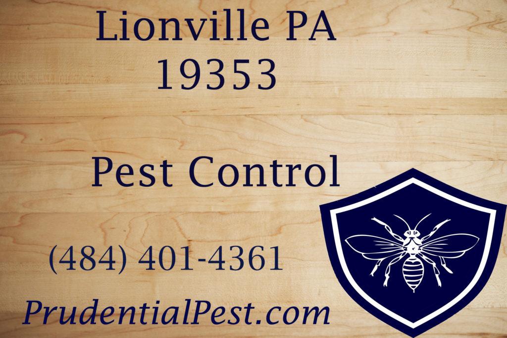 Lionville PA Pest Control