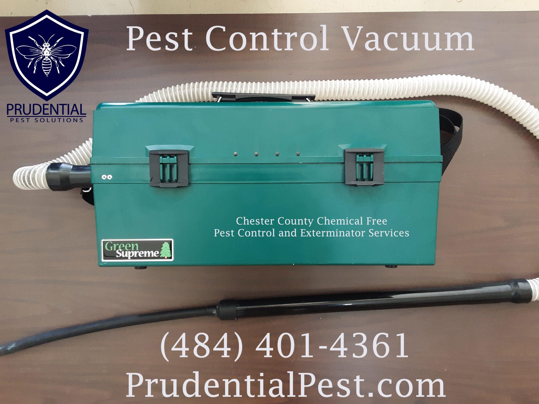 Pest Control Vacuum