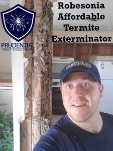 robesonia affordable termite exterminator