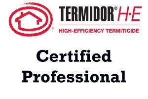 Termidor HE Certified Professional